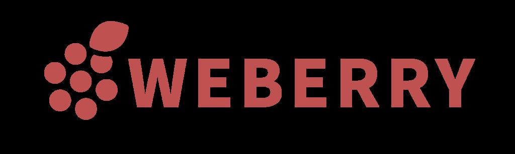 Logo et texte Weberry